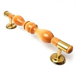 Ручка-скоба РС160/280ТФ деревянная лакированая