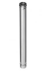 Дымоход 1,0м FERRUM AISI 430/0,5