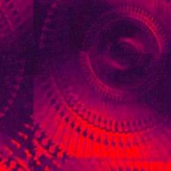 Пленка с/к 0,45х8м (голография красная) Deluxe 6010