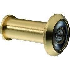Глазок дверной d2,5см, металл, стекло 2цвета