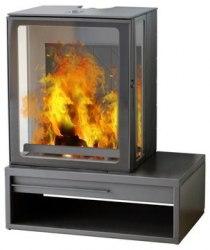 Печь-камин Plamen Eco Minimal 35