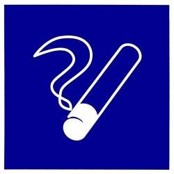 """Знак """"Место курения"""" D03"""