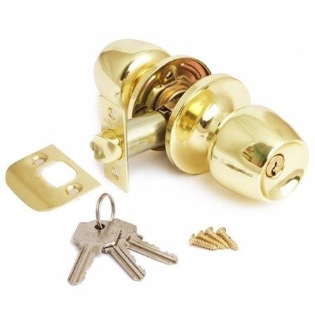 Защелка межкомнатная в сборе Avers 0598-01 ключ/фиксатор