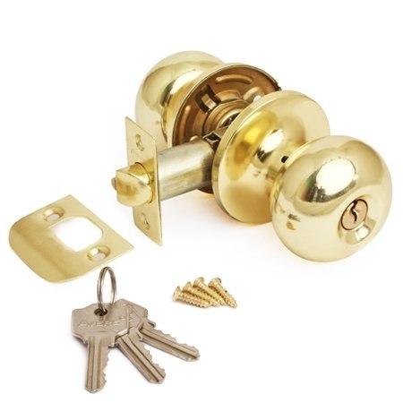 Защелка межкомнатная в сборе Avers 6082-01 ключ/фиксатор