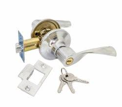 Ручка-защелка межкомнатная с ключом и фиксатором SOLLER R 860