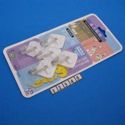 Набор крючков пластмассовых 5шт SOLLER 316