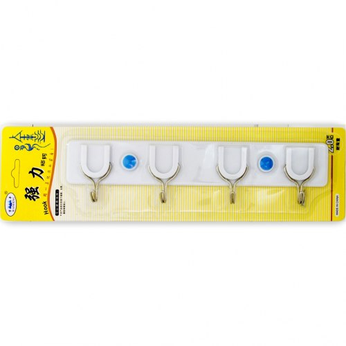 Крючок пласстмаовый на планке SOLLER 892 ZR