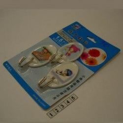 Набор крючков пластмассовых 3шт SOLLER 910