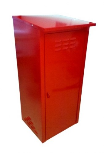Шкаф д/газовых баллонов (на 1 баллон 50л.), красный ЗСИ