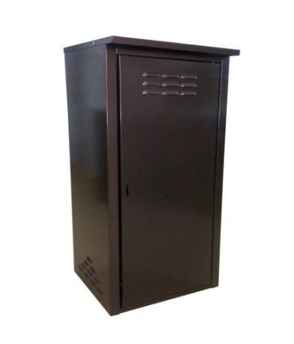 Шкаф д/газовых баллонов (на 1 баллон 50л.), коричневый ЗСИ