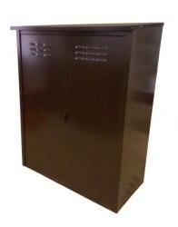 Шкаф д/газовых баллонов (на 2 бал. по 50л.), коричневый ЗСИ