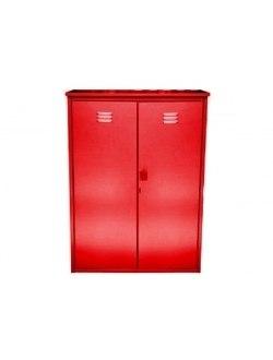 Шкаф д/газовых баллонов (на 2 бал. по 50л.),красный ЗСИ
