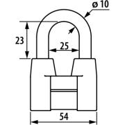 Набор навесных замков ЧАЗ ВС2-4А