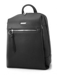 Рюкзак женский David Jones 5842 бирюзовый, чёрный