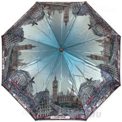 Зонт женский автомат Три слона 133 Лондон