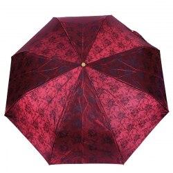 Зонт женский автомат Три слона 120 Красный