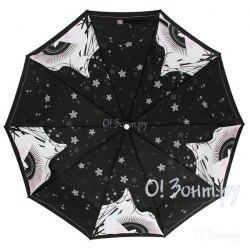 Зонт женский полуавтомат Zest 53616 Силуэт