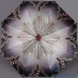 Зонт женский полуавтомат Три слона 882 Цветы