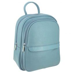 Рюкзак женский David Jones 6313-2 голубой, белый