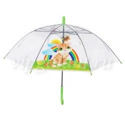 Зонт детский прозрачный (12 рисунков) Dropstop 200