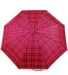 Зонт женский полный автомат (Шотландка) Три слона 103-1