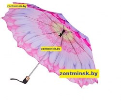 Зонт женский супер автомат (Цветок) Три слона 115-3