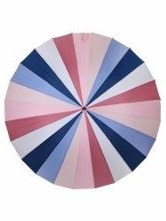 Зонт трость Розовая радуга Три слона 2400