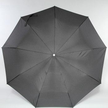 Зонт муж. Деревянная ручка крюк Zest 13940 (3 сложения)