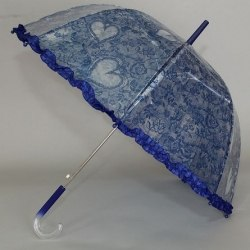 Зонт детский с сердечками (6 расцветок) Magic Rain 14891