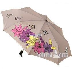 Зонт с проявляющимся рисунком Три слона 220Р (Бежевый)