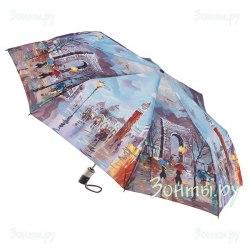 Зонт женский автомат Zest 23745 (Триумфальная арка)