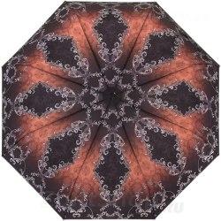 Зонт женский полуавтомат Три слона 881 (Терракот)