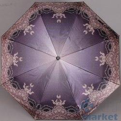 Зонт женский автомат Три слона 884 Фиолет