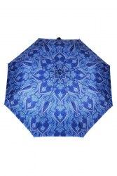 Зонт женский автомат Три слона 883 Синяя абстракция