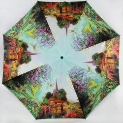Зонт женский автомат Zest 23745 (Весна в деревне)