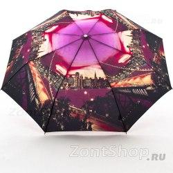 Зонт женский полуавтомат Zest 23626 Бруклинский мост
