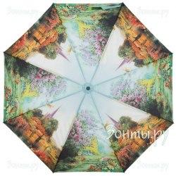 Зонт женский полуавтомат Zest 23625 Весна в деревне