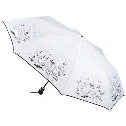 Зонт женский автомат Zest 23849 Коты на белом