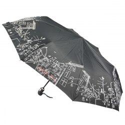 Зонт женский Zest 23849 Коты на крыше