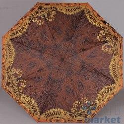 Зонт женский автомат Zest 23995 Коричневый