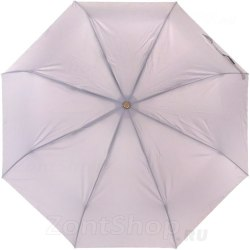 Зонт женский полуавтомат Три слона 886 Серый