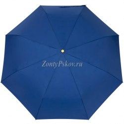 Зонт женский полуавтомат Три слона 886 Синий