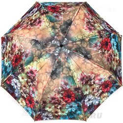 Зонт женский автомат Zest 53864 Цветы