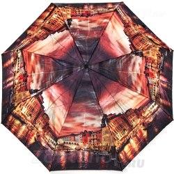 Зонт женский автомат Zest 53864 Закат в Венеции