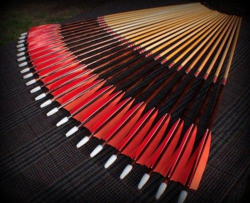 Стрела деревянная Archery Club под индивидуальные параметры