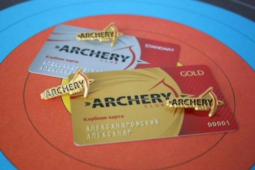 Клубная карта Gold Archery Club