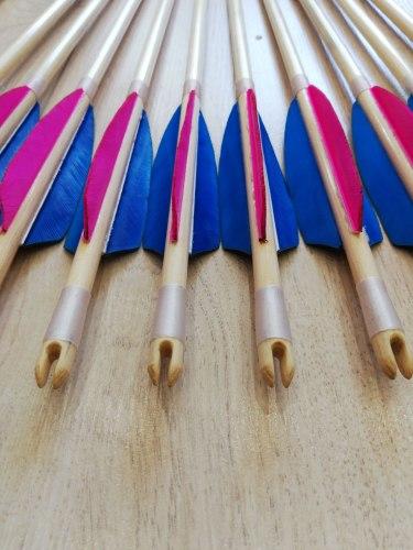 """Стрела деревянная Archery Club """"Супер люкс"""""""