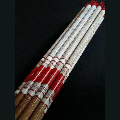"Стрела деревянная Archery Club ""Супер люкс с крестингом"""