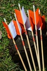 Стрела деревянная Archery Club Флу-флу