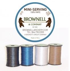 Нить обмоточная Brownell Serving Mini 0.015